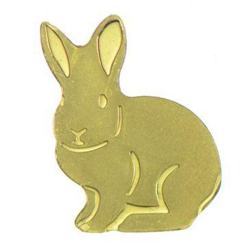 Goldener Hase