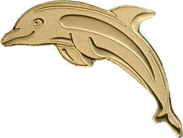 Goldener Delphin