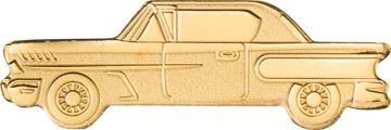 Klassisches Auto Kleingoldmünze