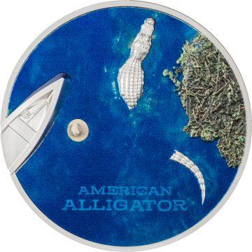 Amerikanischer Alligator 1 Unze Silber