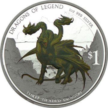 Bulgarischer dreiköpfiger Drachen