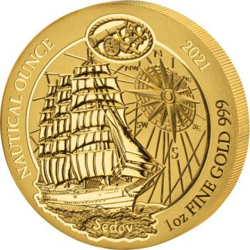 100 Jahre Sedov 1 Unze Gold
