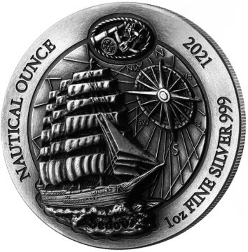 100 Jahre Sedov 1 Unze Silber High Relief Antik
