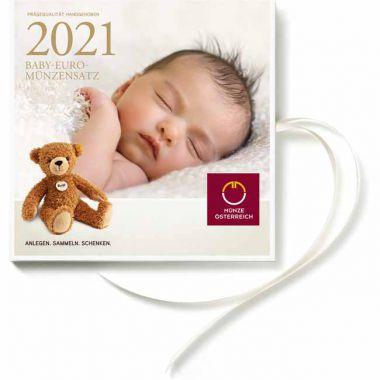 Baby-Euro-Münzensatz 2021