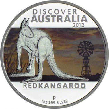 Rotes Känguru