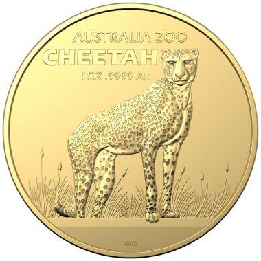 Gepard 1 Unze Gold