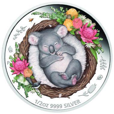 Koala 1/2 Unze Silber
