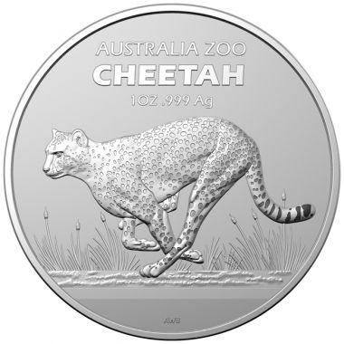 Gepard 1 Unze Silber