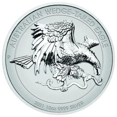 Australischer Keilschwanzadler 10 Unzen Silber
