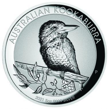 Kookaburra 5 Unzen Silber