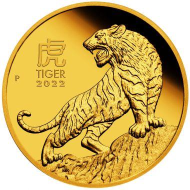 Lunar Tiger 1/10 Unze Gold