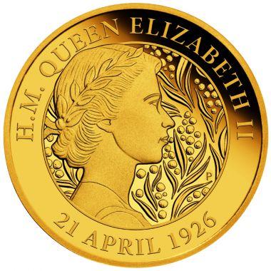 95. Geburtstag Queen Elizabeth II. 1/4 Unze Gold