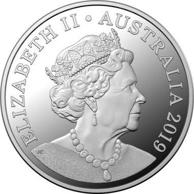6. Münzporträt von Elisabeth II