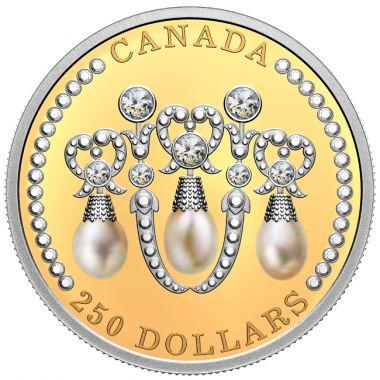 Liebesknoten Perlen Diadem von Queen Elizabeth II