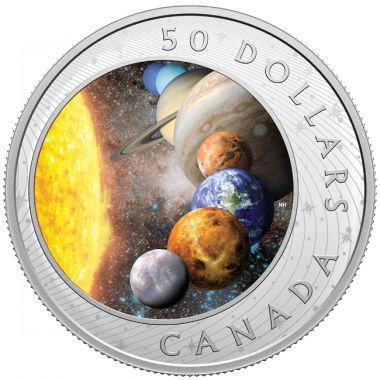 Das Sonnensystem - Ein Must-Have für alle Münzsammler und Hobby-Astronomen