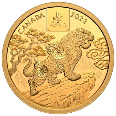 Lunar - Jahr des Tigers 1/2 Unze Gold