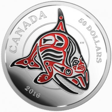 Die Fabelwelt der Haida: Der Orca 1