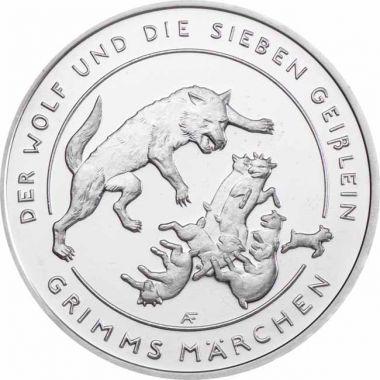 Grimms Märchen - der Wolf und die Sieben Geißlein
