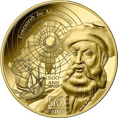 Magellan und die Manuelinik 1/4 Unze Gold