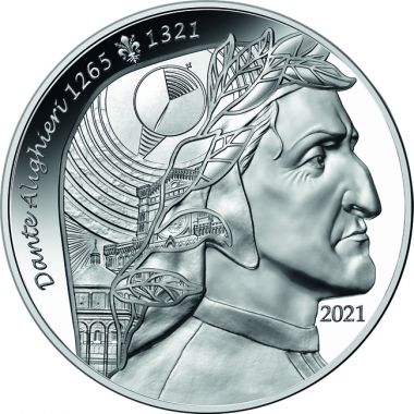 Dante Alighieri 1 Unze Silber
