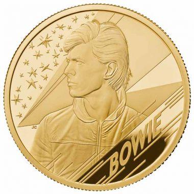 David Bowie 1/2 Unze Gold PP