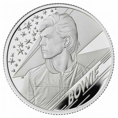 David Bowie 1/2 Unze Silber PP