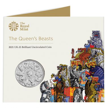 The Queens Beasts im Blister