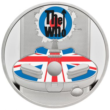 The Who 1 Unze Silber PP