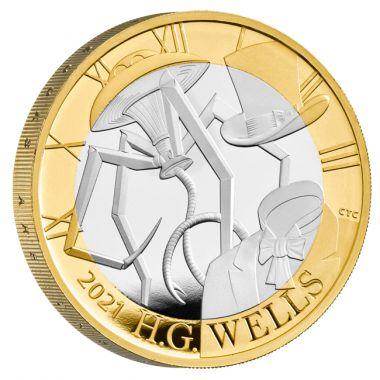 H.G. Wells - Der Vater von Science-Fiction Silber