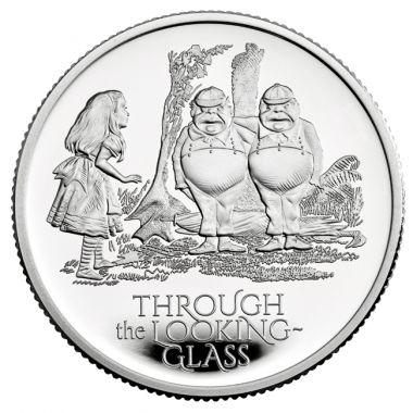 Alice im Wunderland: Hinter den Spiegeln 1/2 Unze Silber