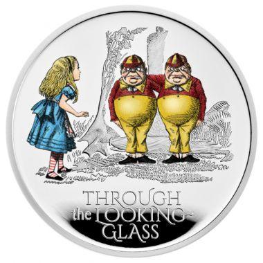 Alice im Wunderland: Hinter den Spiegeln 1 Unze Silber