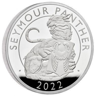 Seymour Panther 1 Unze Silber PP