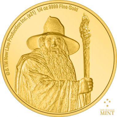 Der Herr der Ringe - Gandalf 1/4 Unze Gold PP