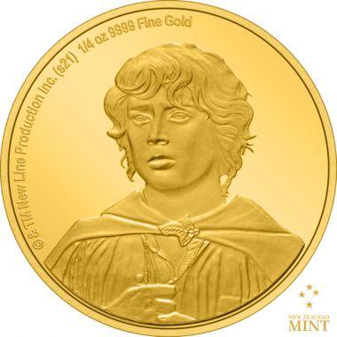Der Herr der Ringe - Frodo 1/4 Unze Gold PP
