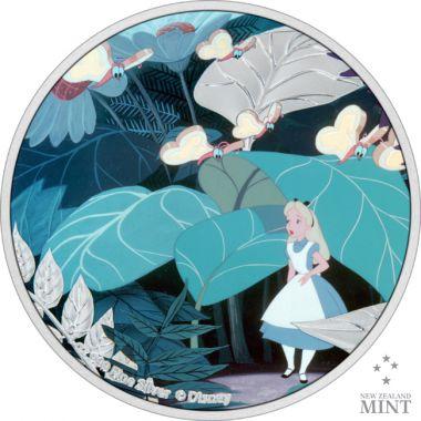 Alice aus Alice im Wunderland Silber 1 Unze