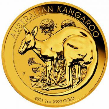 Kangaroo 1 Unze Gold 2021