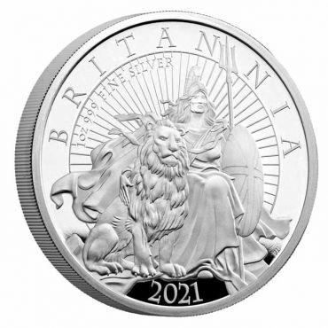 Britannia 1 Unze Silber PP