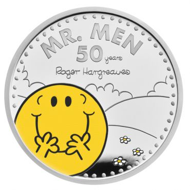 Mr. Men 1 Unze Silber