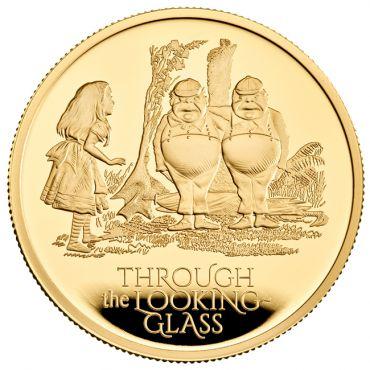 Alice im Wunderland: Hinter den Spiegeln 1 Unze Gold