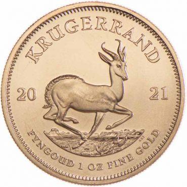 Krugerrand 1 Unze Gold 2021
