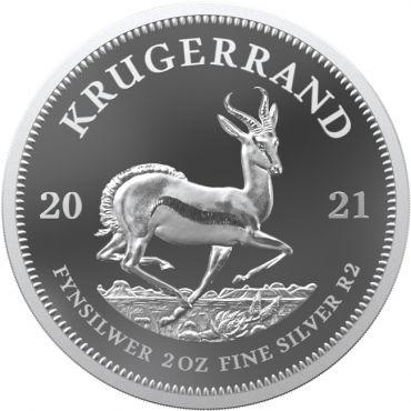 Krugerrand 2 Unzen Silber PP