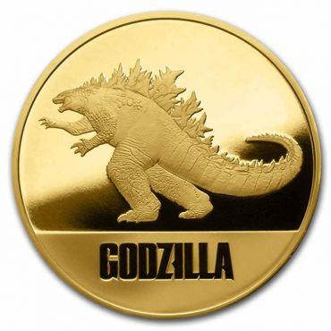 Godzilla 1 Unze Gold