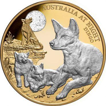 Australien bei Nacht: Dingo 1 Unze