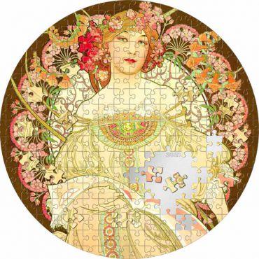 Jetzt vorbestellen! Alfons Mucha: Reverie - 3. Ausgabe der Micropuzzle Serie